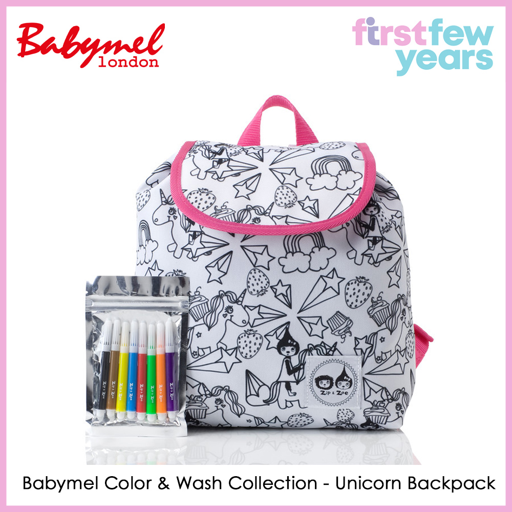Babymel Color & Wash Collection Backpacks (2 Designs)