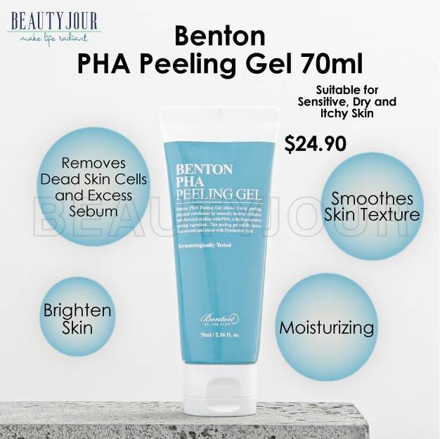 {Korea Skincare} Benton PHA Peeling Gel 70ml (Brightening, Tightening, Lighten Freckles)