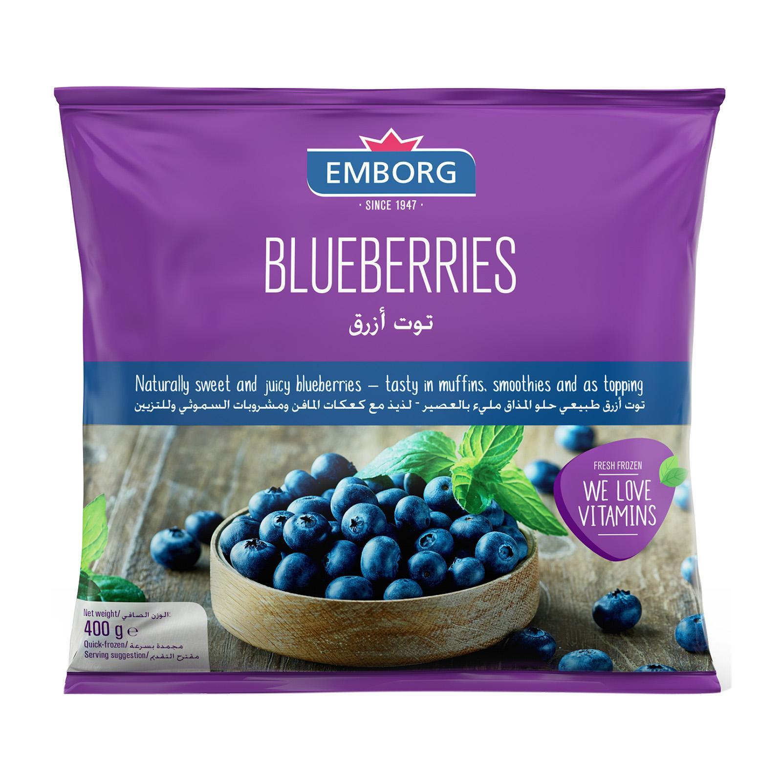 Emborg Blueberries - Frozen