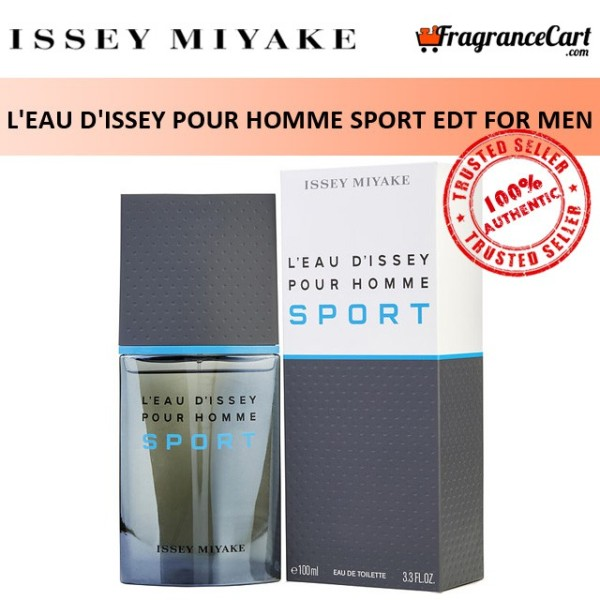 Buy Issey Miyake LEau dIssey Pour Homme Sport EDT for Men (100ml) Eau de Toilette Leau Dissey Sports [Brand New 100% Authentic Perfume/Fragrance] Singapore