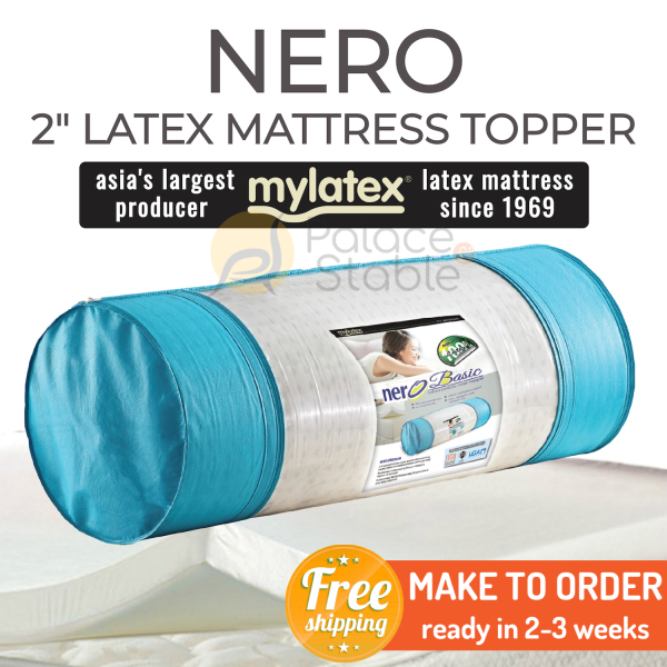 *READY STOCK* MyLatex NERO (2 inch), 100% Natural Latex Topper, Available Sizes (King, Queen, Super Single, Single)