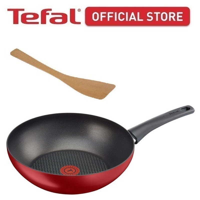 Tefal Chef Delight Wokpan 28cm (C69819+CWA001) CWS268 Singapore