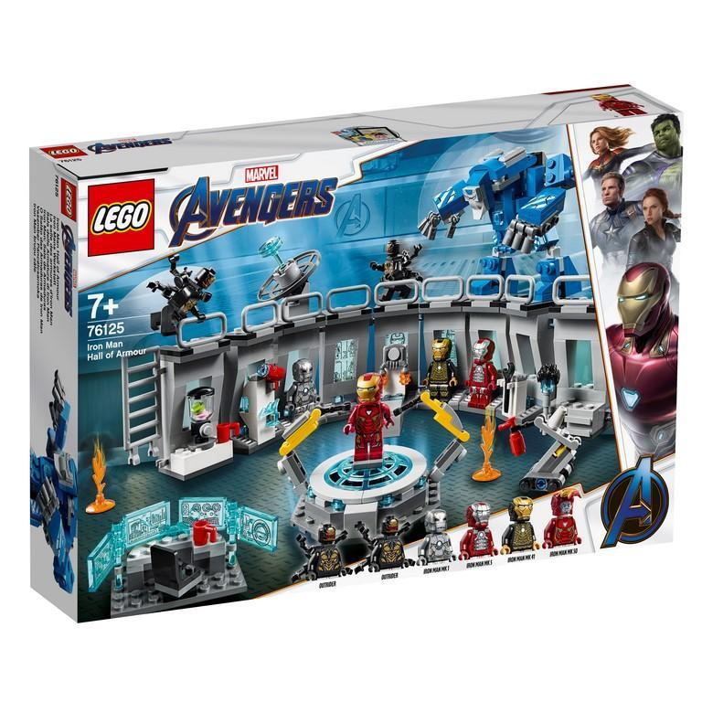 Lego 76125 Marvel Iron Man Hall Of Armour By Belrion Online Toy Store.