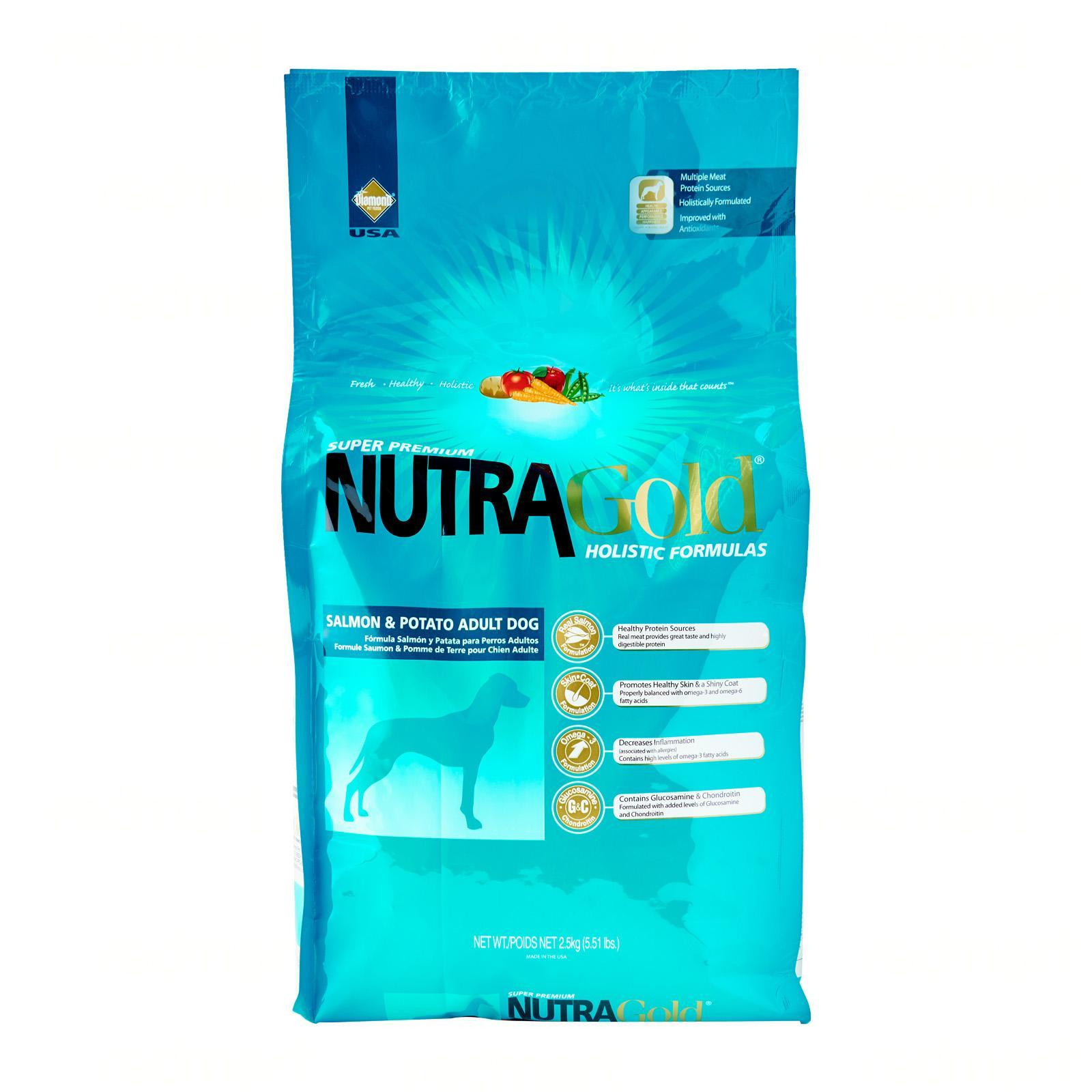 NutraGold Holistic Canine Adult Salmon and Potato