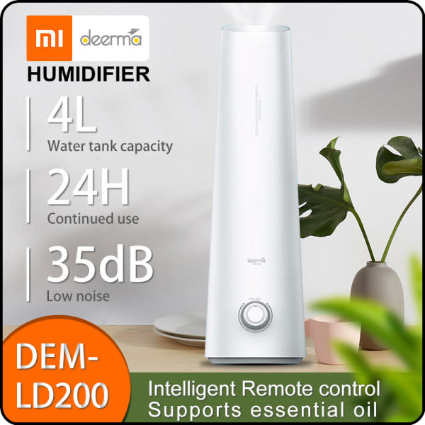 Deerma Humidifier LD200 4L Air Purifying Long Lasting Air-conditioned Rooms Office humidifier Singapore