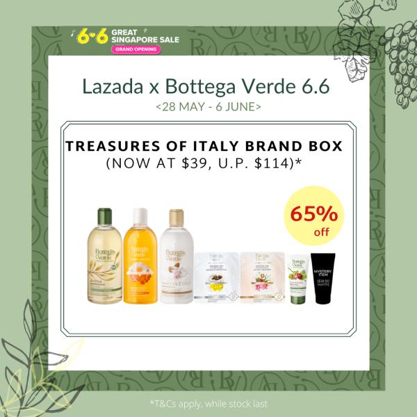 Buy Bottega Verde x Lazada Treasures of Italy Box Singapore
