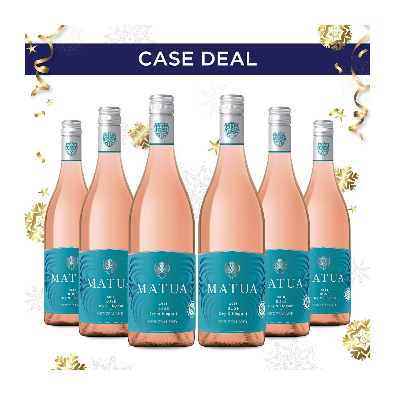 Matua Valley Marlborough Rose Wine - Case