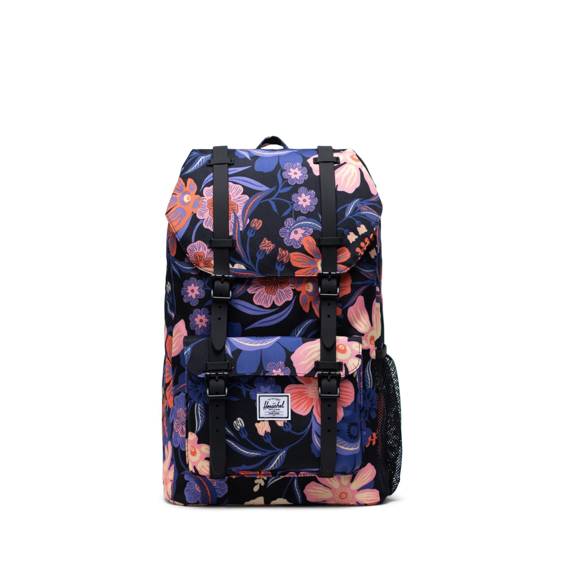 Herschel Little America Youth - Night Floral Black