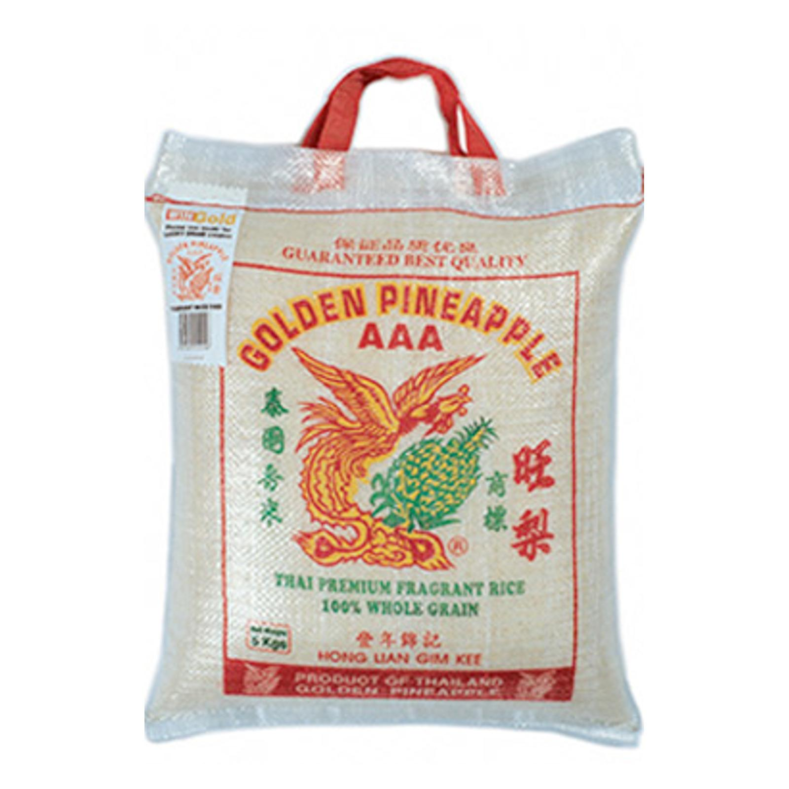 Golden Pineapplethai Fragrant Rice - 5kg (charges Includes Shipping Fee) By Best Buy Mini Mart.