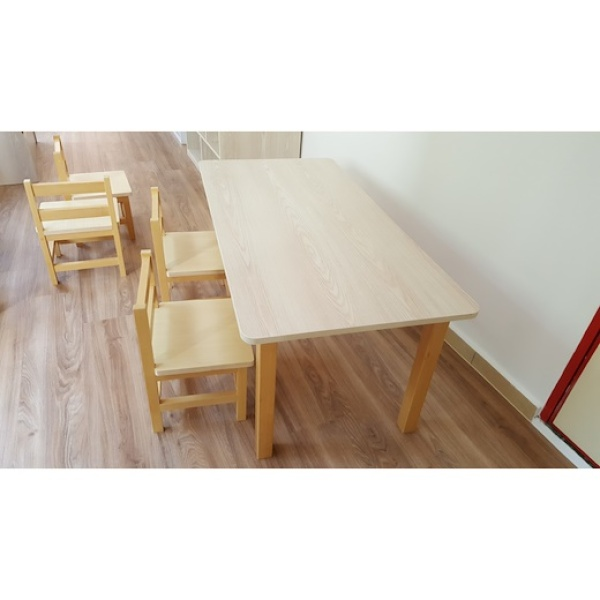 Children Table - Simple Rectangle and Easy to Clean