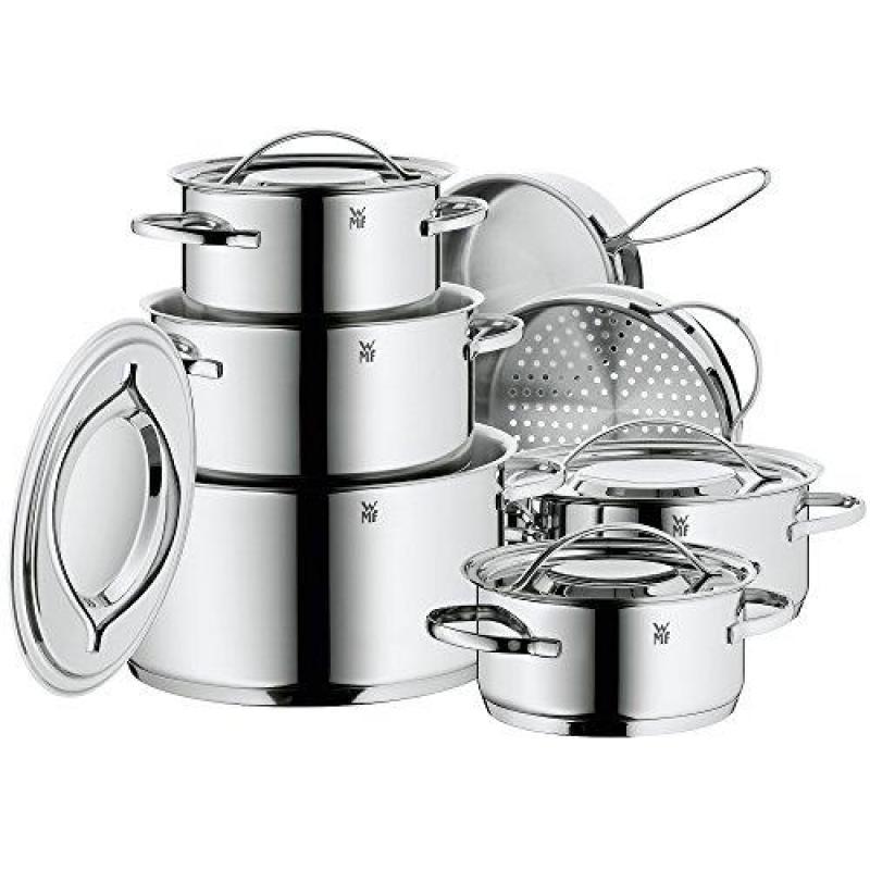 WMF 07 1112 6040 Gala II Cookware Set, Silver Singapore