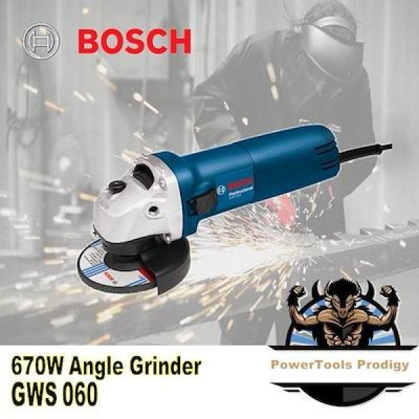 BOSCH GWS 060 ANGLE GRINDER / CHEAP AND RELIABLE / POWERFUL 660W MOTOR / 4 INCH