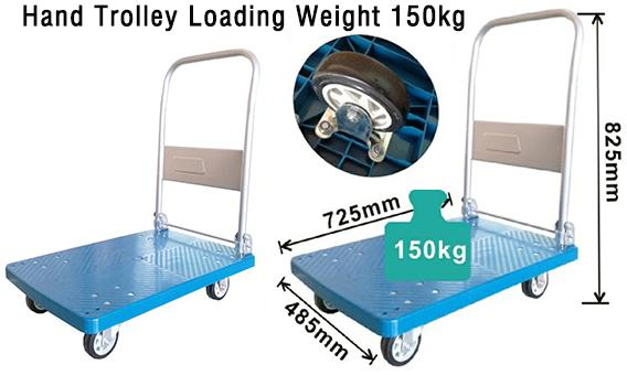 Hot-selling Products Hand trolley loading weight 150kg