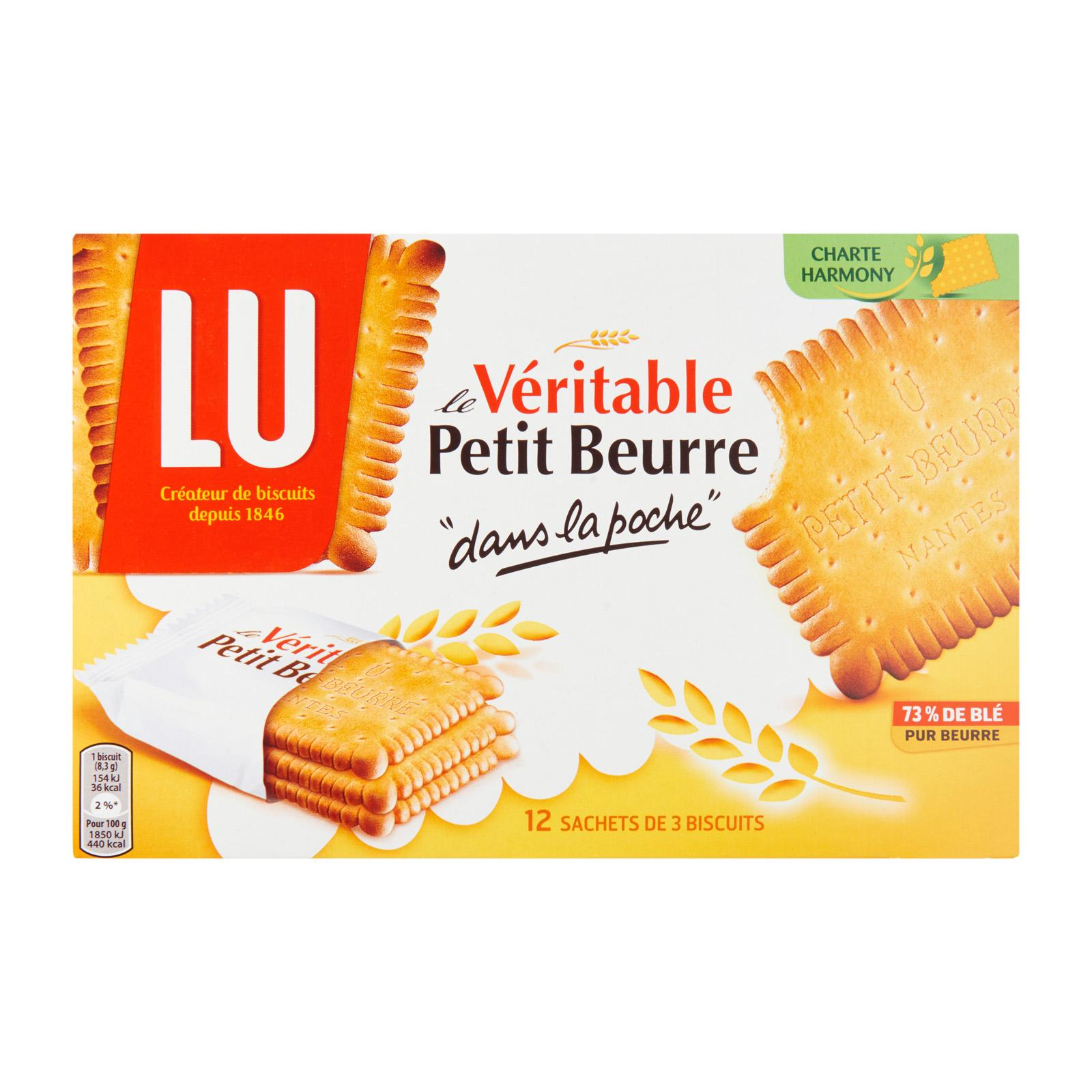LU Petit Beurre Pocket Pure Butter Biscuit
