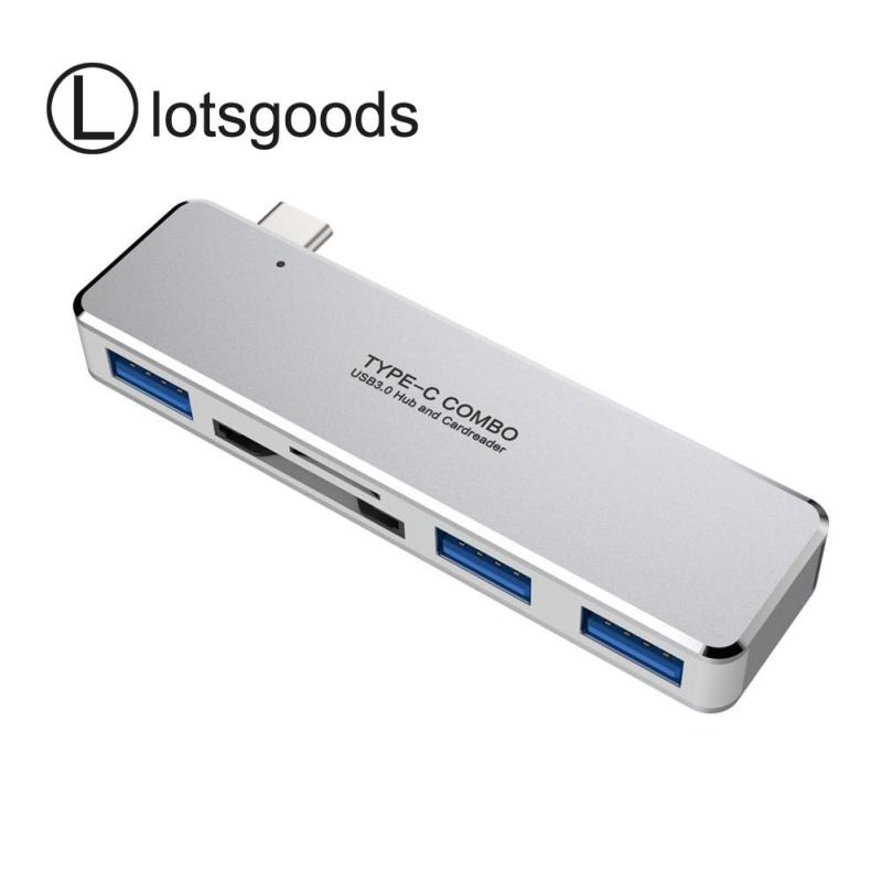 3 USB 3.0 High Speed Type-C Expander Multi USB C HUB w/TF Momory Card Slot