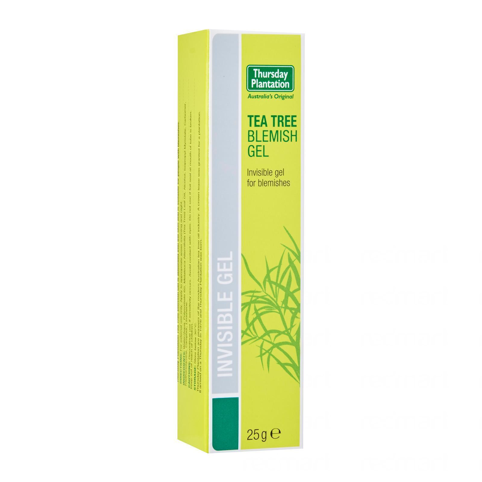 Thursday Plantation Tea Tree Blemish Gel - By Medic Drugstore