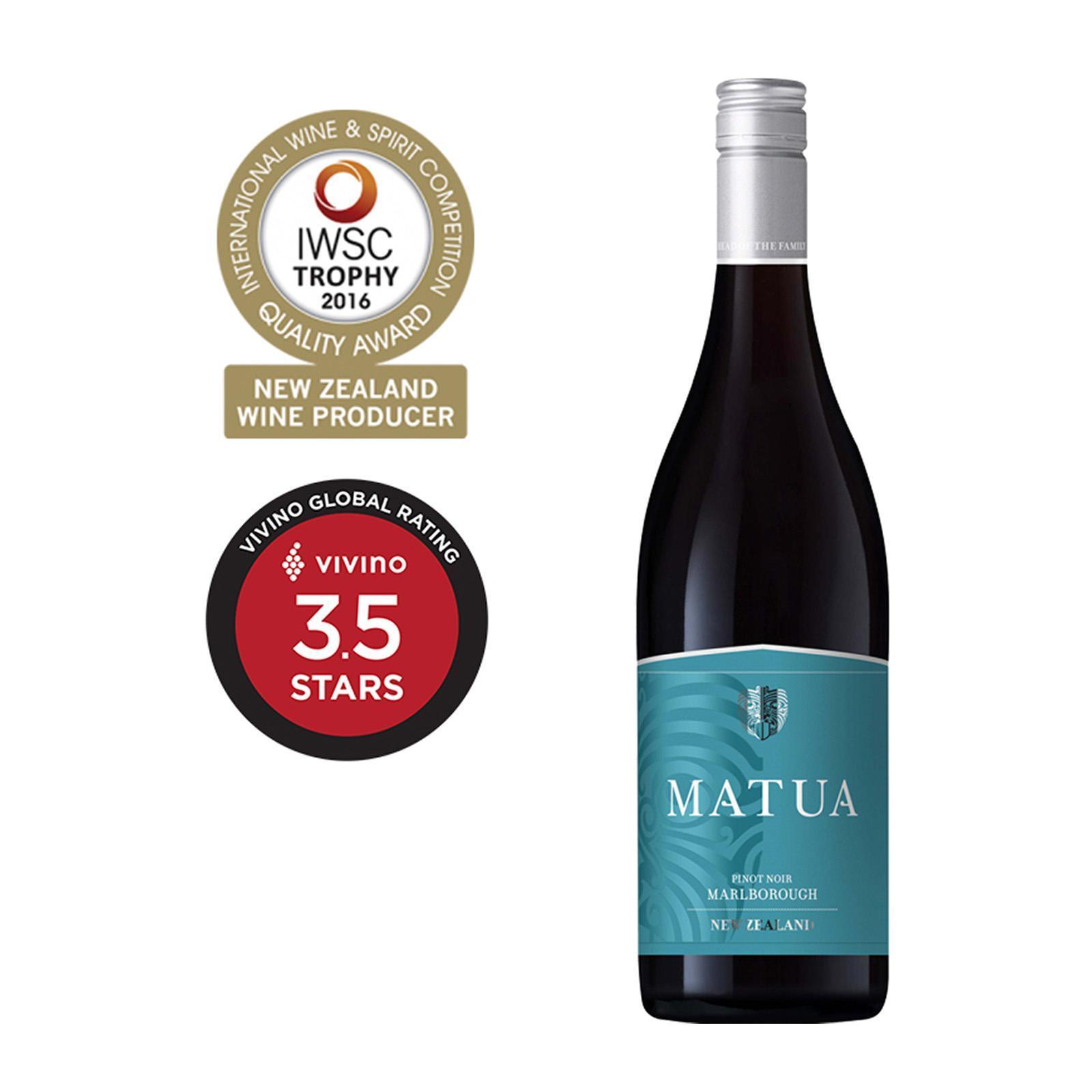 Matua Valley Marlborough Pinot Noir Red Wine