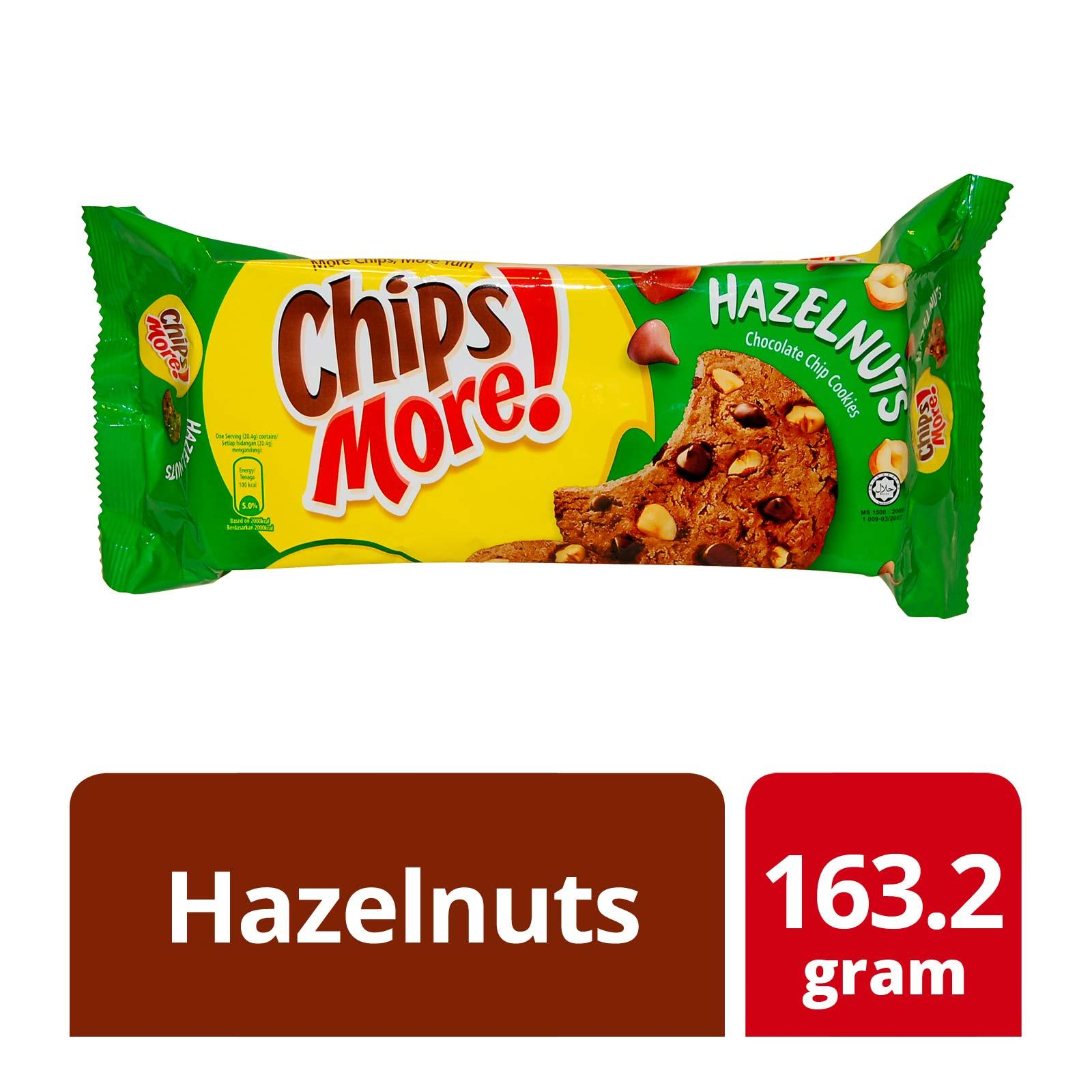 Chipsmore Hazelnuts Chocolate Chip Cookies