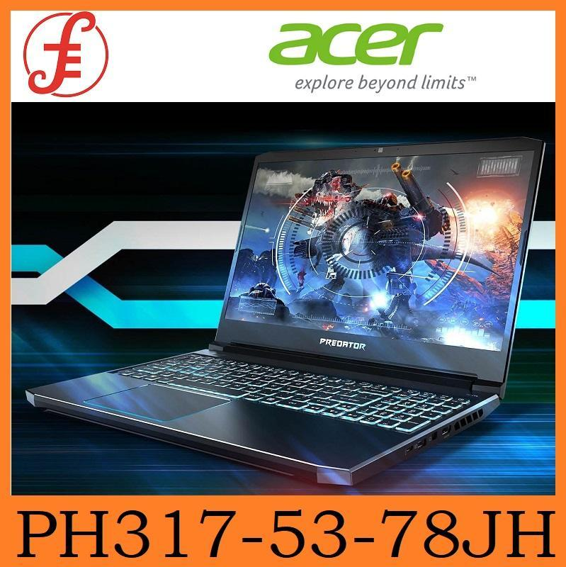 Predator Helios 300 PH317-53-78JH NEW Gaming Laptop with RTX 2060 Graphics