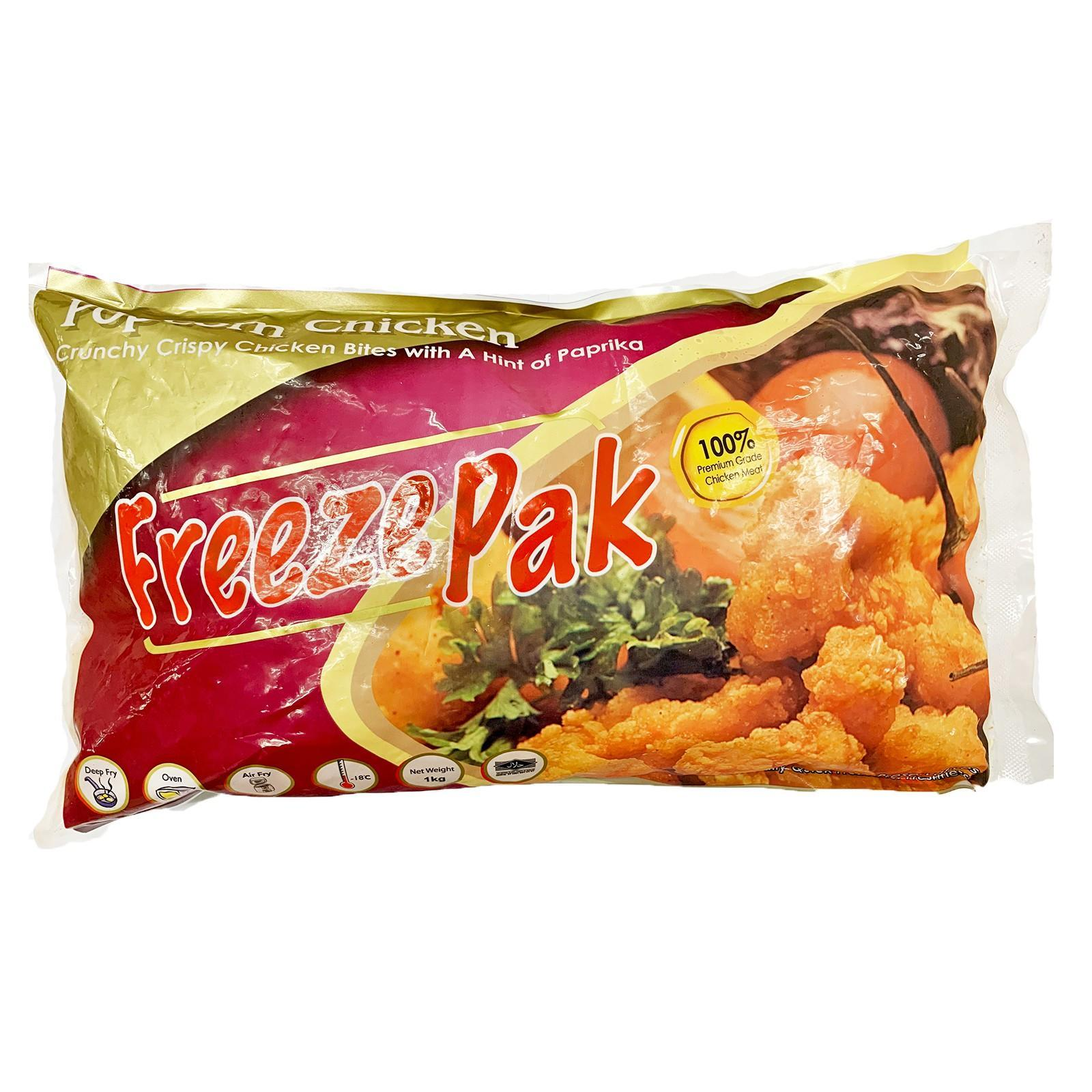 FreezePak Crispy Popcorn Chicken - Frozen