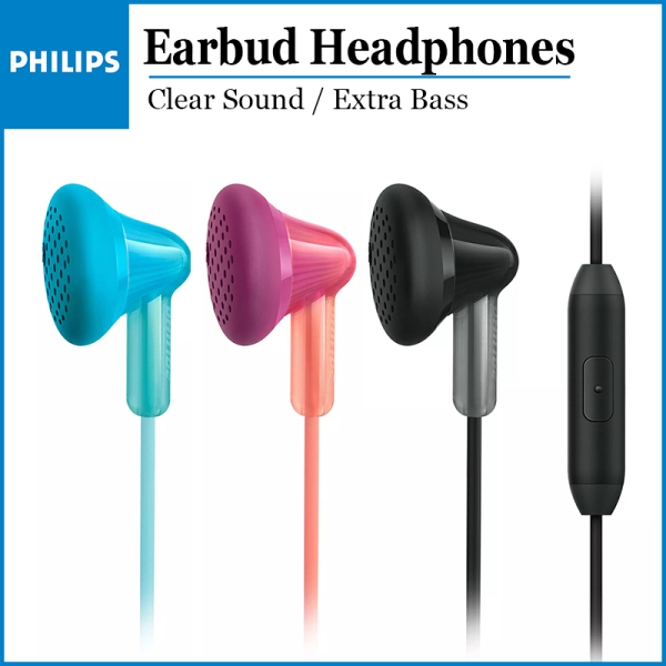 Philips SHE3015 In-ear Headphones with Mic Singapore
