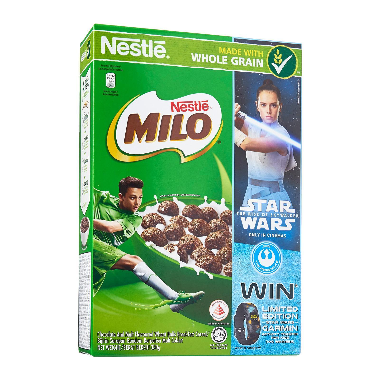 Nestle MILO Breakfast Cereal Star Wars Promo