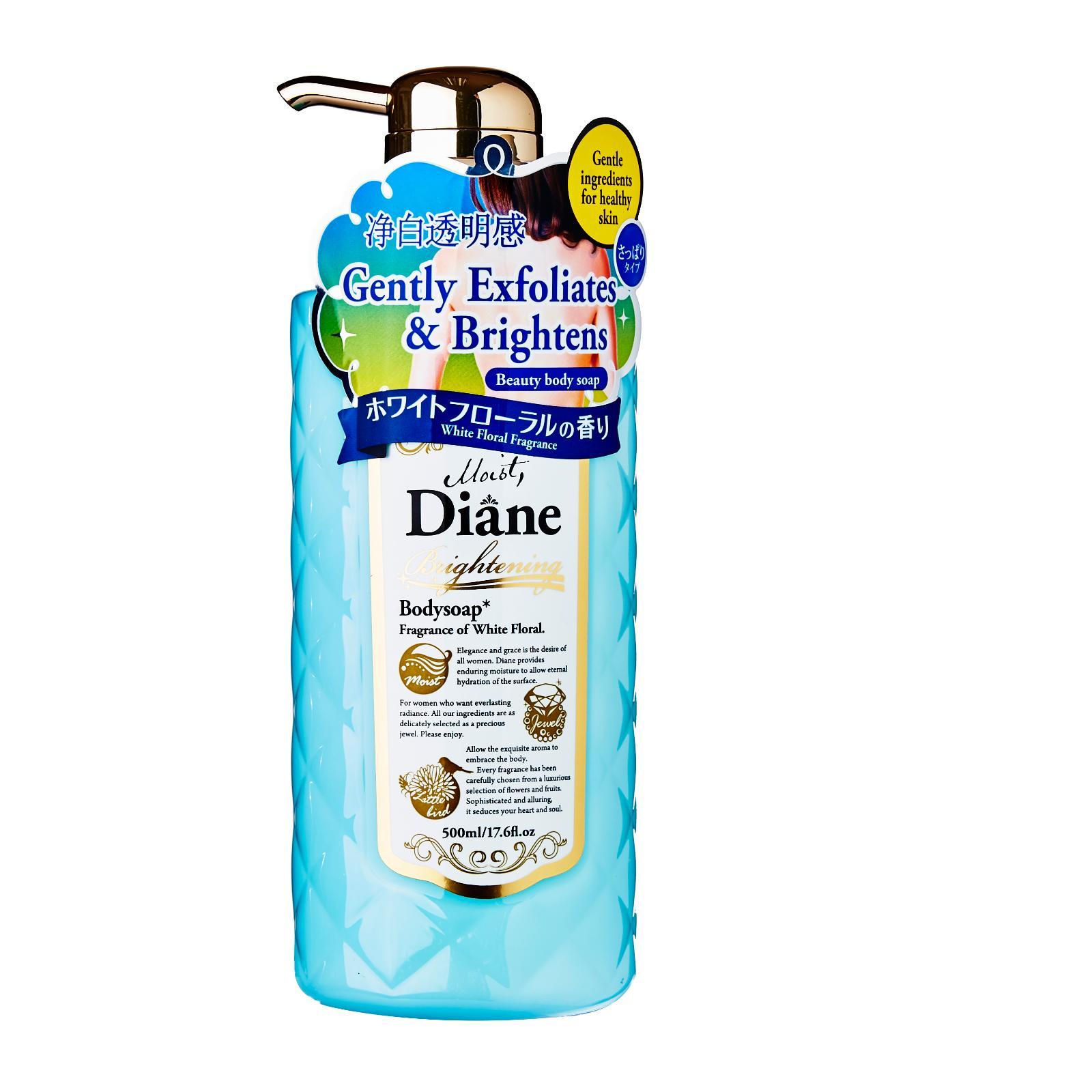 Moist Diane Brightening Body Soap White Floral