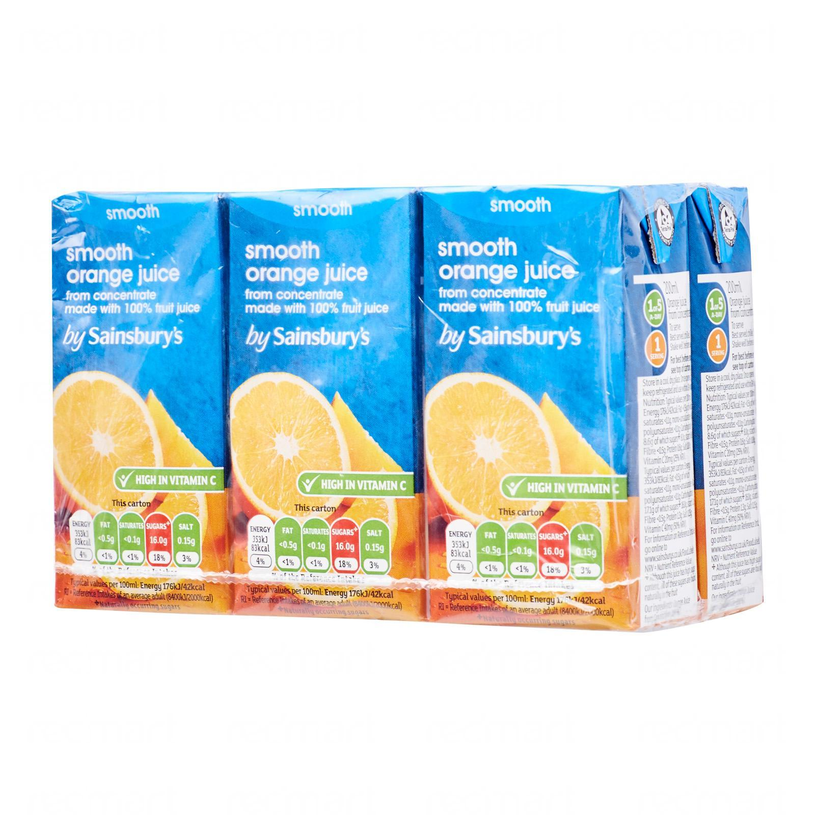 Sainsbury's Pure Orange Juice
