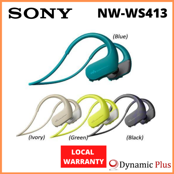 Sony NW-WS413 4GB Waterproof Wearable Walkman® Singapore