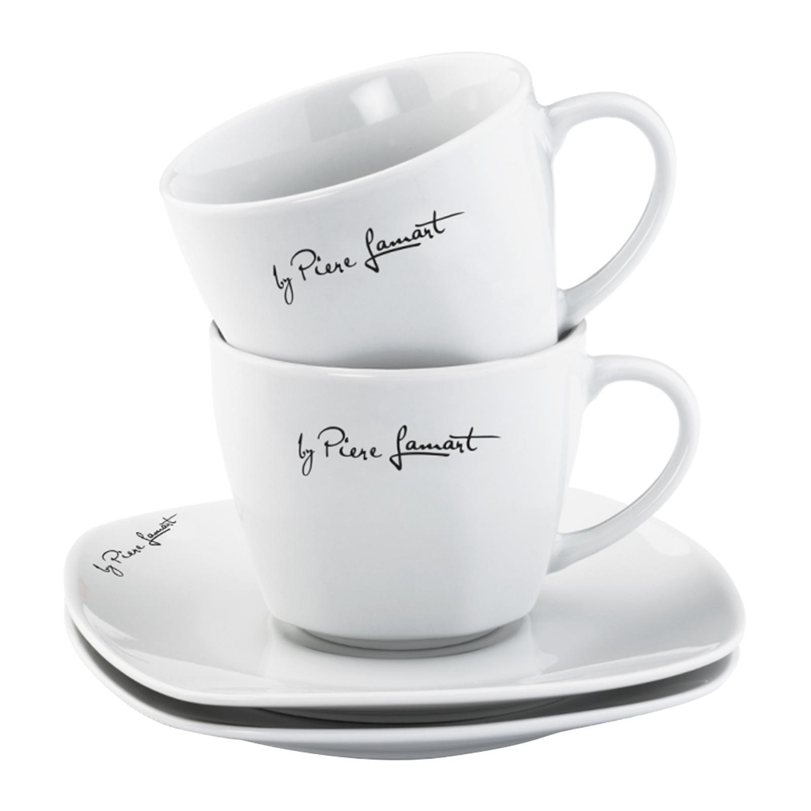 Lamart Cup With Saucer - 2 PCS