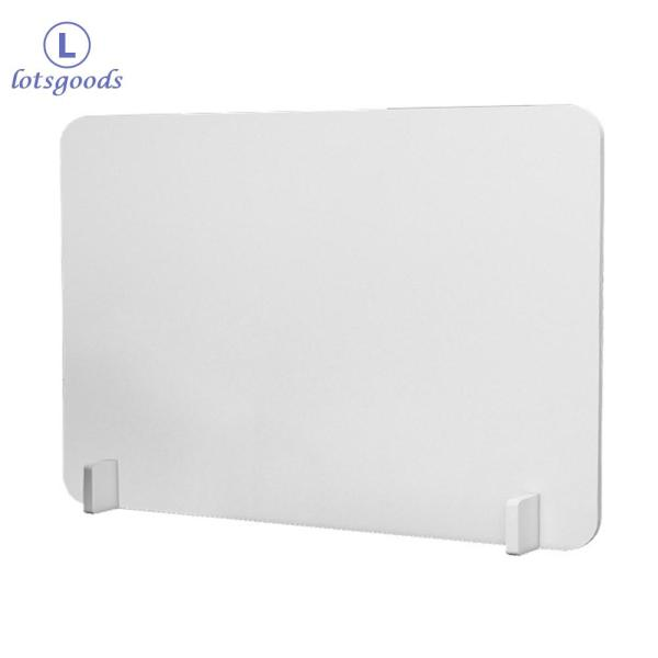 [lotsgoods]Anti-Spray Board School Office Desk Table Divider Partition Panel Privacy Shield 50 X 30cm
