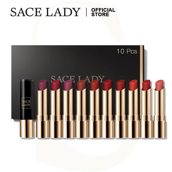 Buy SACE LADY Matte Lipstick Set Waterproof High Pigmented Long Lasting Lips Makeup 10Pcs Singapore
