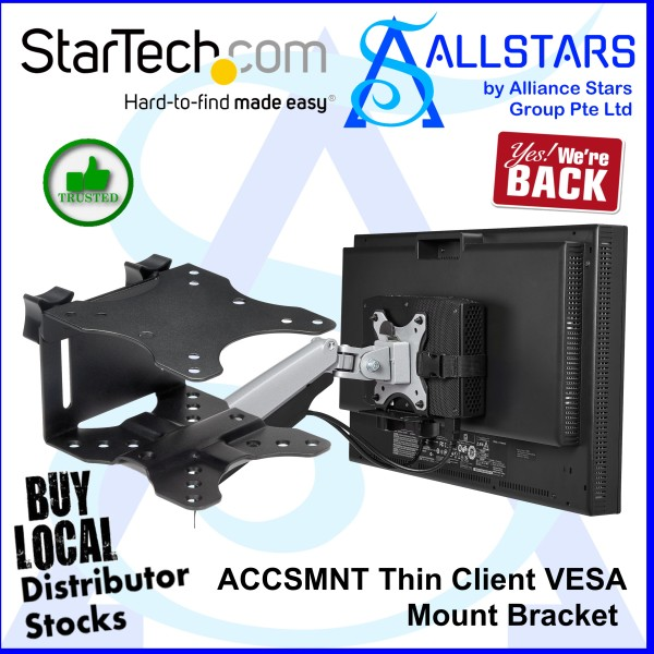 (ALLSTARS : We are Back / Promo) StarTech ACCSMNT / StarTech.com ACCSMNT Thin Client VESA Mount Bracket / Mount Mini PC on VESA Mount