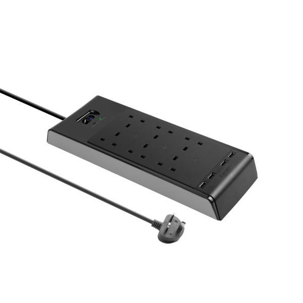 Targus APS1101AP-50 Smart Surge 6 with 4 USB Ports UK