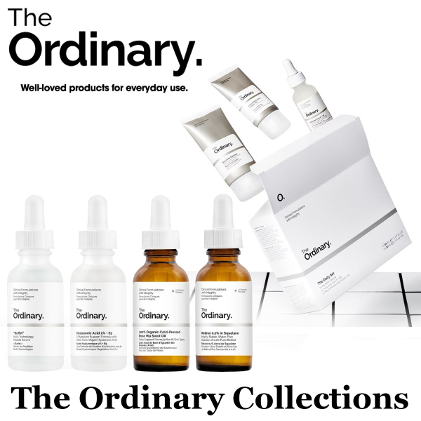 Buy ( Best Selling ) The Ordinary Skincare Collections Singapore