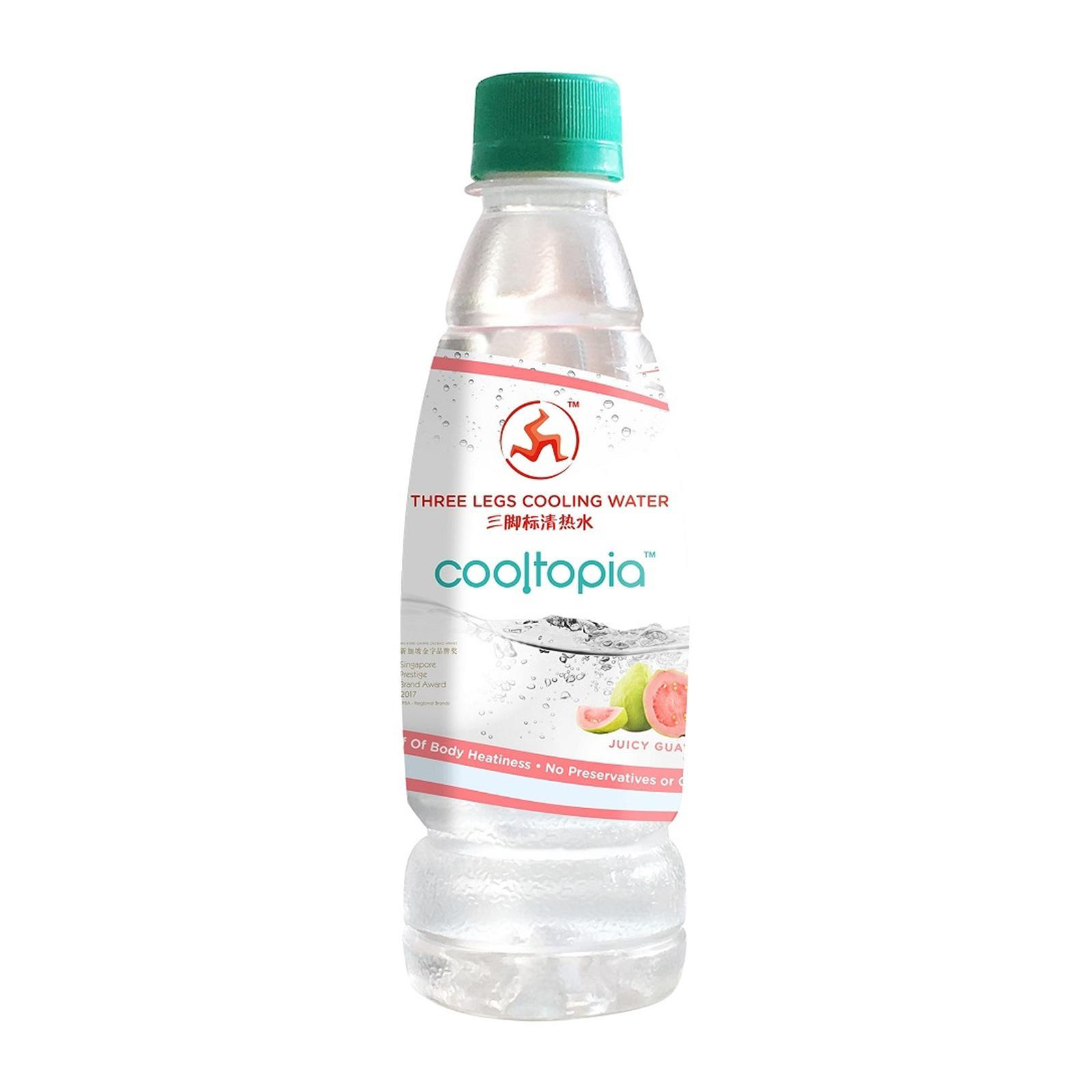 Three Legs Cooling Water - Cooltopia Juicy Guava