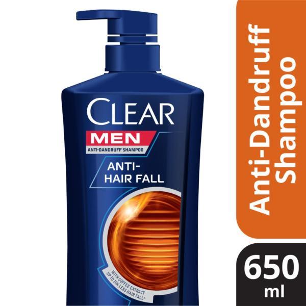 Buy Clear Men Anti-Hairfall Anti-Dandruff Shampoo 650ml Singapore