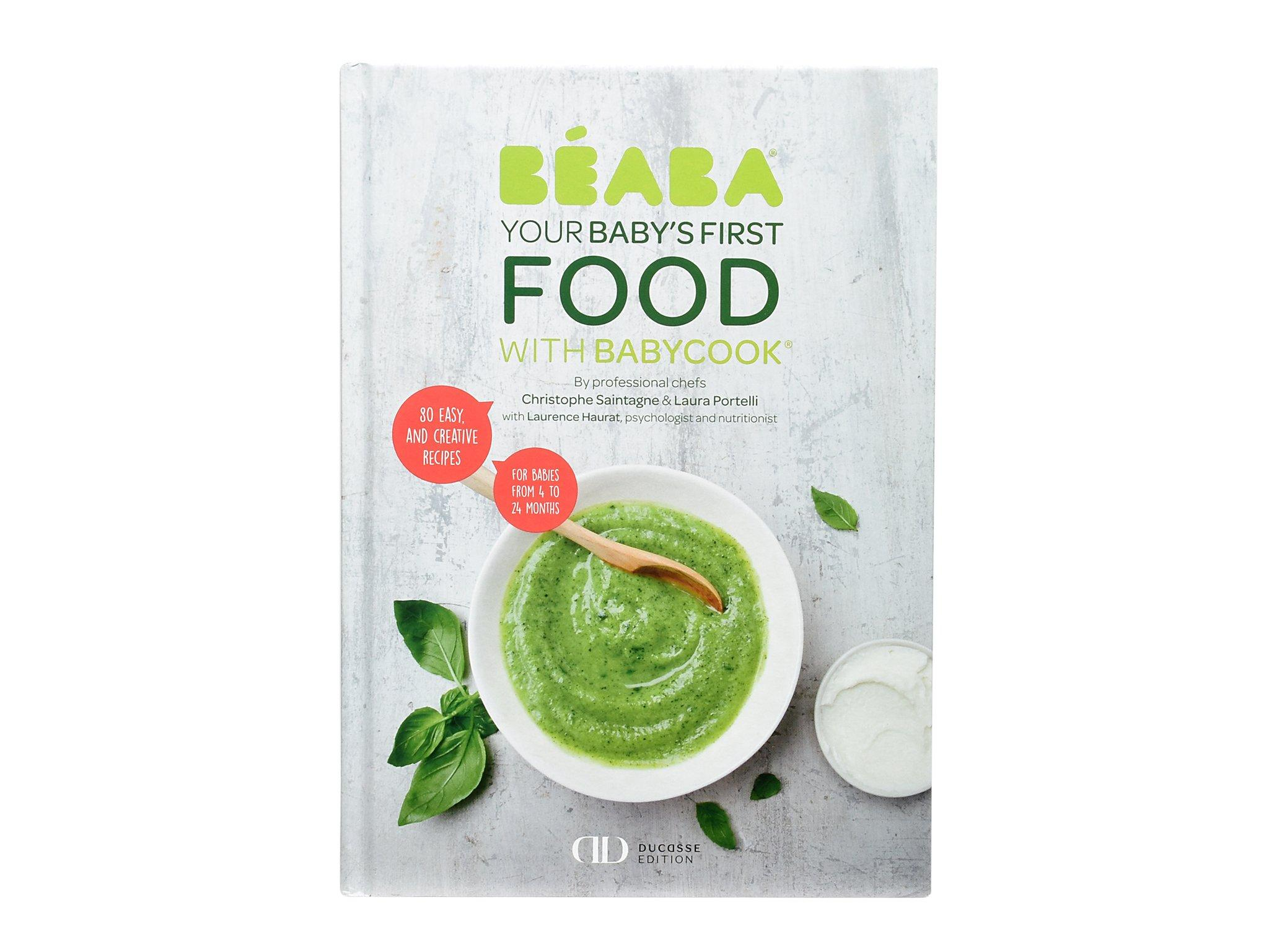 Beaba Cookbook: Babys First Foods with Babycook