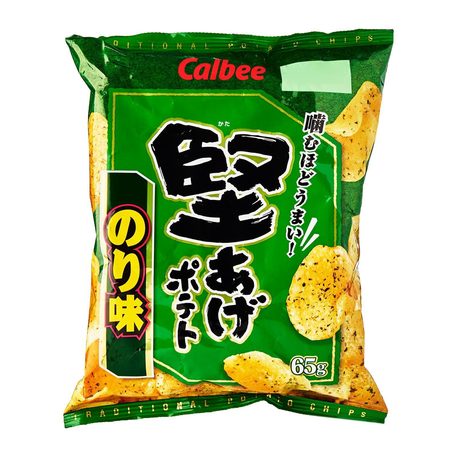 Calbee Kataage Salt and Seaweed Flavored Snack