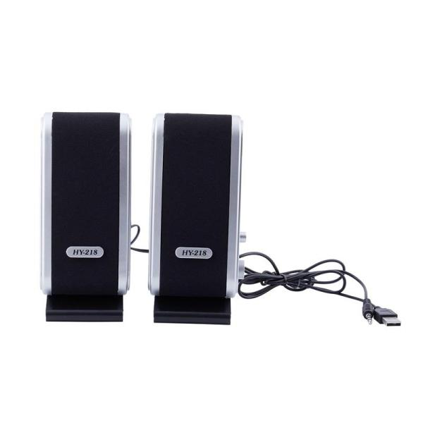 NEW 120W USB Power Desktop Computer Notebook Audio Speaker 3.5mm Earphone Jack Malaysia