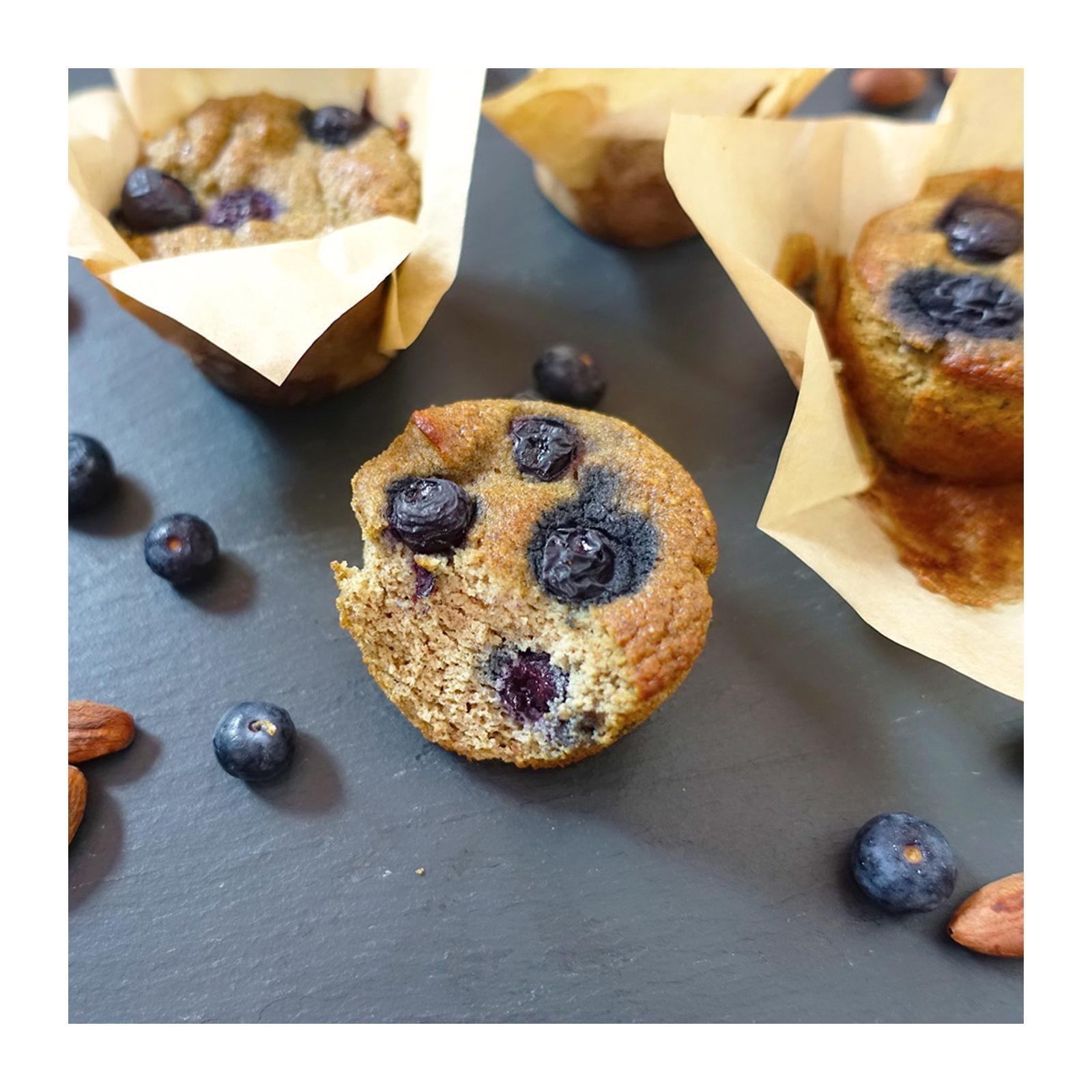 Bakening Flourless Blueberry Muffins (paleo Nut-Free) By Redmart.