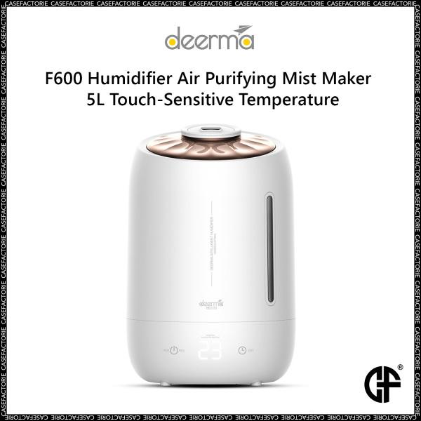 Xiaomi Deerma F600 Humidifier Air Purifying Mist Maker 5L Touch-Sensitive Temperature Singapore
