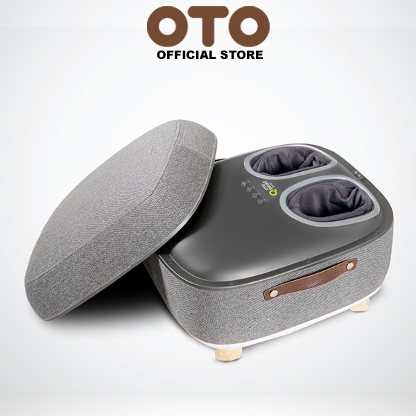 Buy OTO Official Store OTO Q Seat QS-88(GREY) Foot Massager Spa Comfy Seat 4 Auto Massage Programs 3 Strength Levels Kneading Scraping Air-Pressing Tapping & Heat Singapore