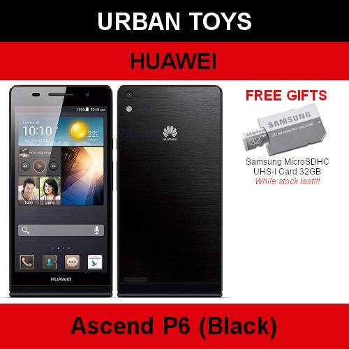 Brand New Huawei Ascend P6 Hp Complete / Black / White / 2gb Ram / 8gb Rom / 4.7 Inch Display Screen.
