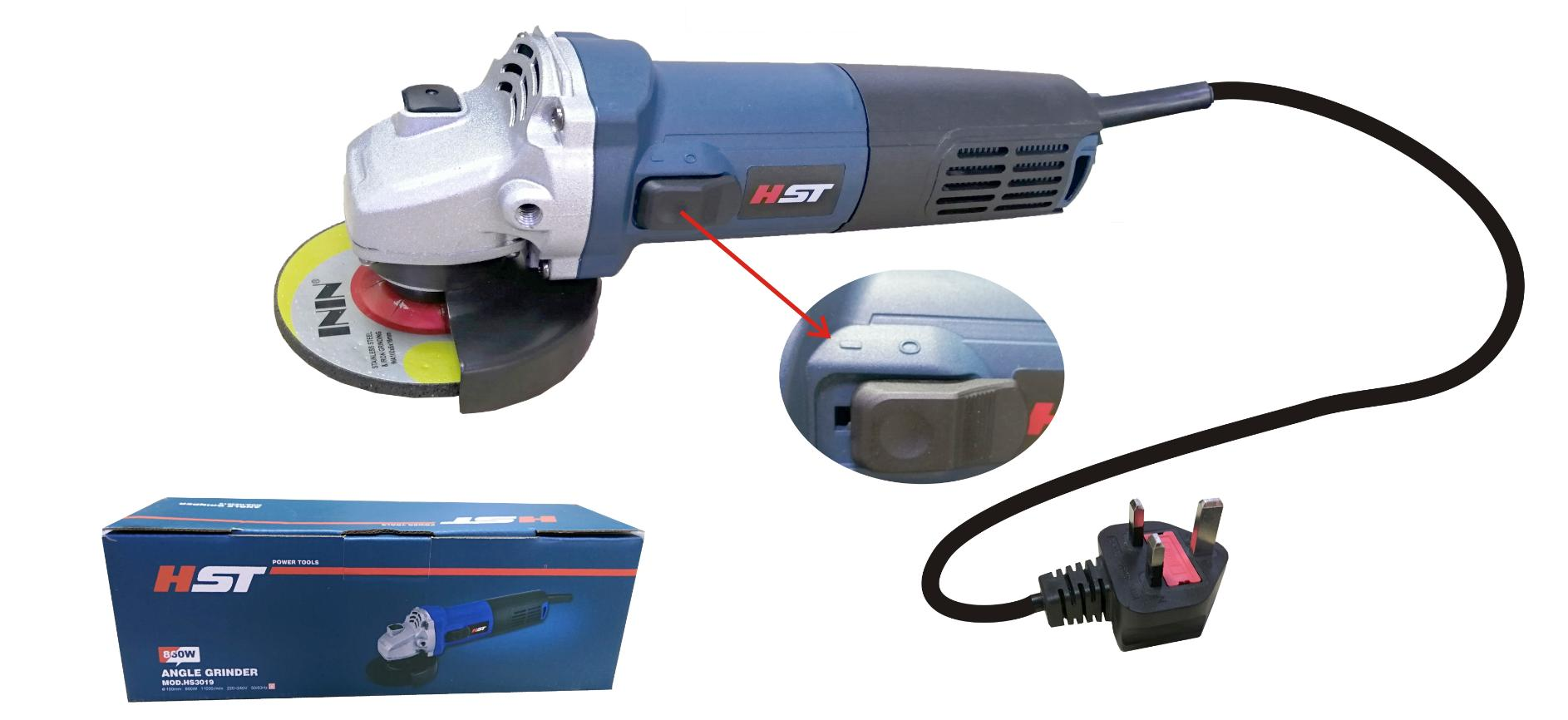 860w Super Angle Grinder ⌀100mm By De Feng Pte Ltd