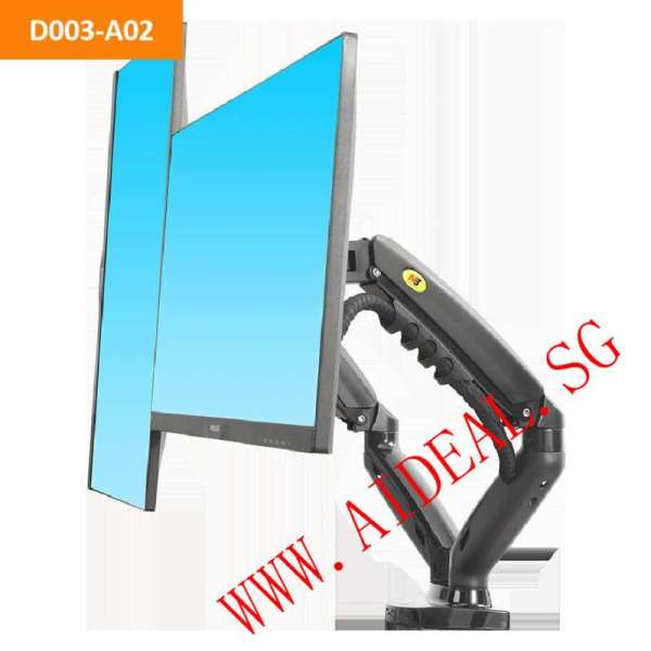 Dual Monitor Stand/Dual Side-By-Side ARM/Two Monitor ARM