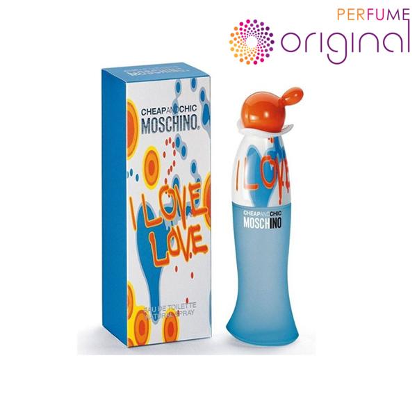 Buy [Original] [Perfume Original] Moschino I Love Love EDT Women 100ml Perfume For Women Singapore