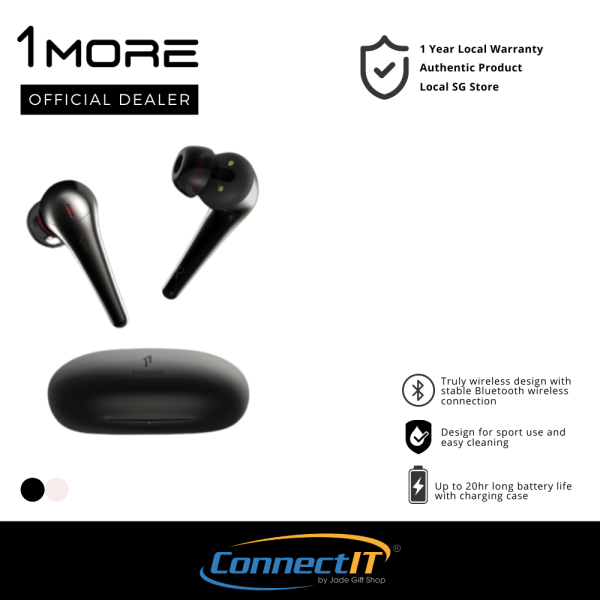 1More ComfoBuds Pro ES901 Wireless Earbuds Bluetooth 5.0 Earbuds With Active Noise cancellation (1 Year Local Warranty) Singapore