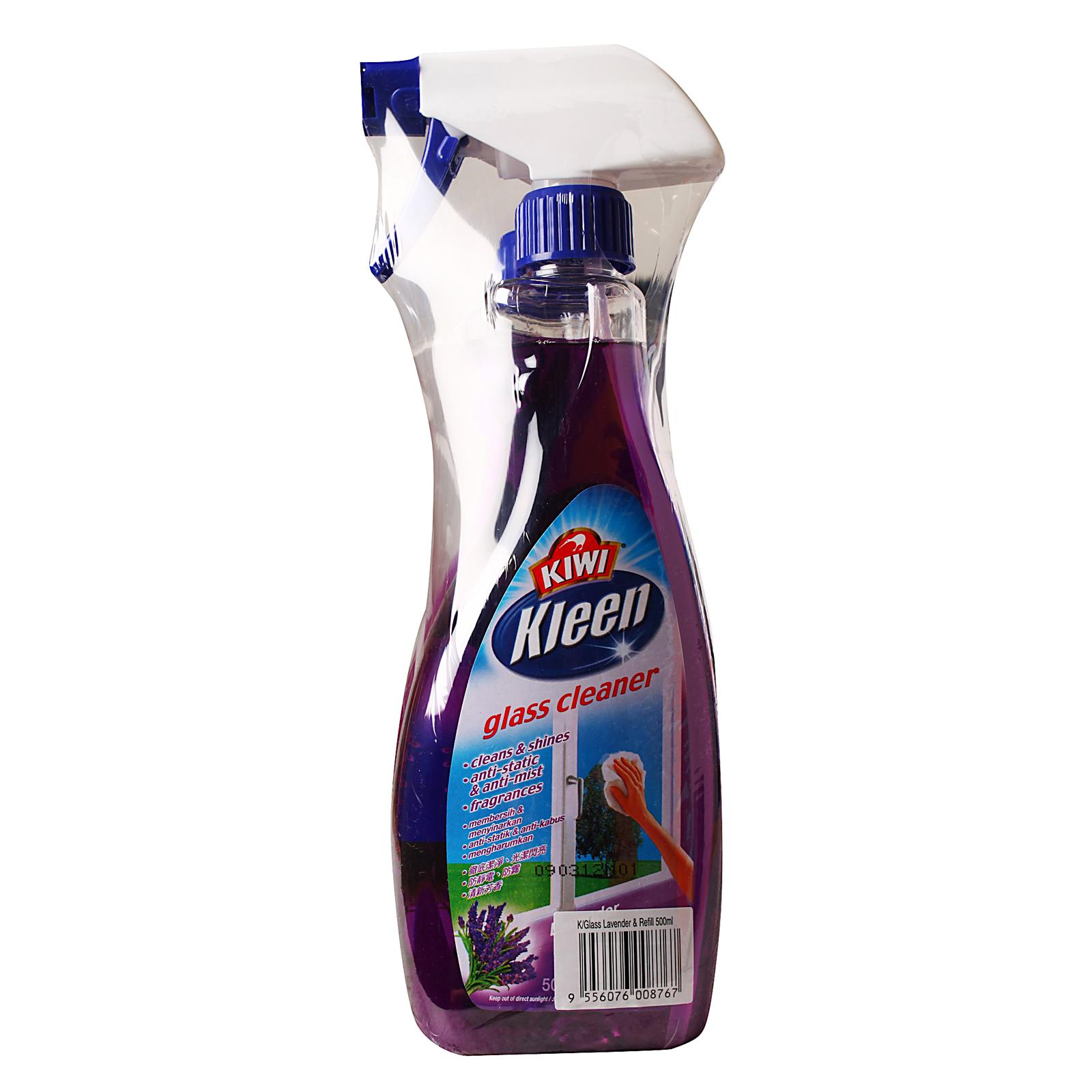 MR MUSCLE Glass Cleaner + Refill Lavender 500ml