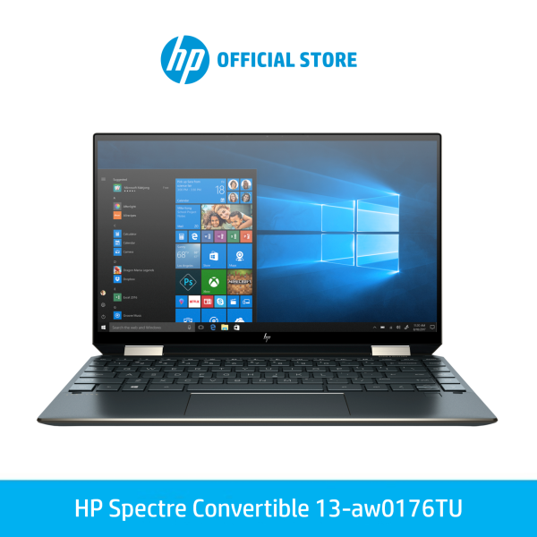 [Pre-Order] HP Spectre Convertible 13 Laptop Intel® Core™ i5-1035G4 Up to 2TB PCIe SSD Windows 10 [Ship Within 14 Days]